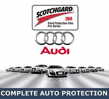 AUDI Vehicles BUMPER KIT Precut Clear 3M Paint Protection Bra Film
