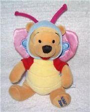 "Disney Winnie the Pooh BUTTERFLY Costume Easter Plush Mini Bean Bag 8"" 2000"