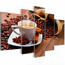 NOT FRAMED Canvas Print Home Kitchen Decor Abstract Wall Art Picture Food Coffee