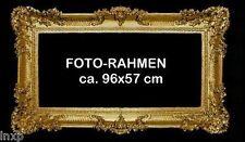 BILDERRAHMEN FOTORAHMEN BAROCKRAHMEN ROKOKO PRUNKVOLL ANTIK 96x57 GOLD RAHMEN 7