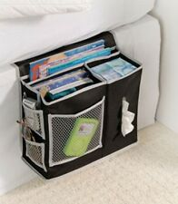 BEDSIDE ORGANIZER Storage Bag Hang Caddy Mattress Book Holder Remote Pocket Bed