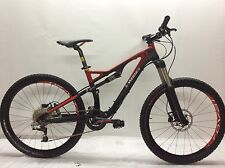 2011 S-Works Stumpjumper FSR Carbon Red size Small