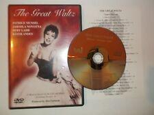 The Great Waltz (DVD, Musical) Patrick Munsel, Jarmila Novotna, Bert Lahr