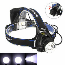 5000LM CREE XML T6 LED Réglable Lampe frontale Phare Tête Torche AA Headlamp