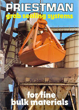 Priestman grab sealing systems for fine bulk materials