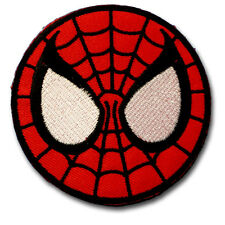 Spiderman Kid Super Hero Cartoon Patch Applique Embroidered Iron on Badge Mask