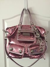 Coach Poppy Pink Sequin Spotlight