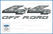 97  --  08 Ford F150 4x4 Off Road Decals - FDCACU Digital Camo ACU stickers side
