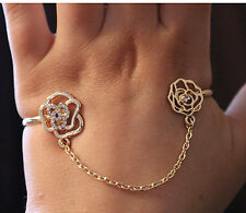 ACROSS PALM BRACELET, BANGLE, CUFF, BODY JEWELLERY, ROSE, CHAIN, STOCKING FILLER