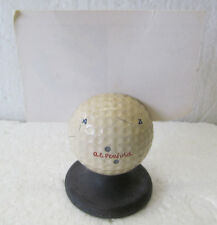 RARE VINTAGE A. E. PENFOLD GOLF BALL ON A TEE FOR PLACE CARD, MENU, PRICE LIST..