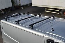 2002 - 2014 Opel / Vauxhall Vivaro Steel Roof Racks Rails Bars Van 3 Bar System