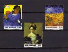 15014) SAN MARINO 2003 MNH** Paintings Gaugin Van Gogh