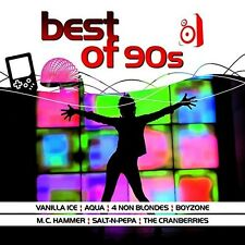 BEST OF 90S  - AQUA, VANILLA ICE, M.C. HAMMER, EMILIA - BOYZONE - CD NEU