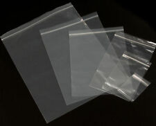 1000 2 Mil 4X7 Zip Reclosable Lock Poly Bag Zipper Clear Plastic Packaging Bags