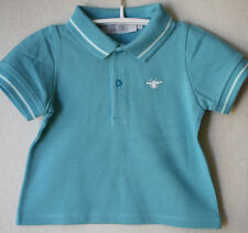 BABY DIOR TURQUOISE POLO SHIRT 12 MONTHS