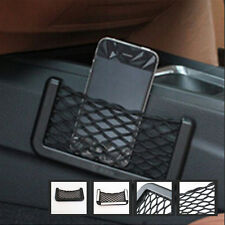 Auto Car Storage Nets Resilient String Bag Phone Gadget holder Pocket Organizer