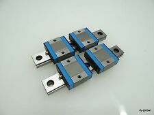 LM Guide Actuator Used MLC20+138mm 2Rail 4Block Compact Miniature IKO MISUMI NB
