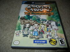 ***HARVEST MOON A WONDERFUL LIFE NINTENDO GAMECUBE GAME W/ CASE***