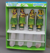 Hawaiian Hula Dancers Girls Dip Bali Hai Spreaders Hawaii Aloha Tiki Bar Party