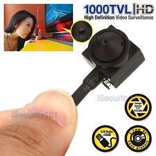 HD 1000TVL Mini Hidden  Audio Pinhole Camcorder Video Recorder Spy CCTV Camera
