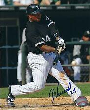 Signed  8x10 DAYAN VICIEDO Chicago White Sox Photo - COA
