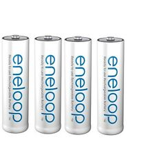 4x Akkus Sanyo Panasonic eneloop AA 2000 mAh este Generation 2100 Charge cycles