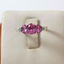 10K White Gold Ladies Ring With Tourmaline Gemstone