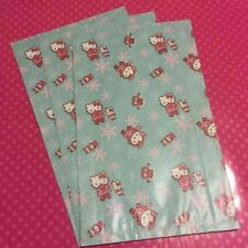 Vintage Sanrio Hello Kitty Large 2006 Holiday 5pc Paper Gift Bags