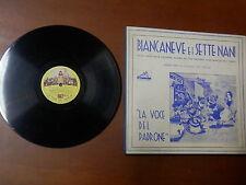 La voce del Padrone Film BIANCANEVE E I SETTE NANI Walt Disney Album 3 dischi
