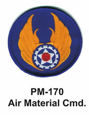 "3"" AIR MATERIAL CMD. Embroidered Military Patch"