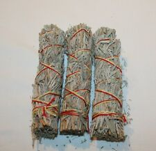 DESERT SAGE for Smudging Cleansing Organic Sage for Burning Herb 3 PACK Incense