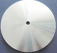 "rle 8""  BACKING PLATE, master lap, ALUMINUM, BRAND NEW"