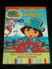 DVD Dora the Explorer Pirate Adventure Nick Jr. Double Length Musical Episode
