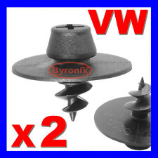 VW MK4 GOLF BORA NEW BEETLE FLOOR MAT CARPET SCREW IN CLIPS FASTENERS FIXING