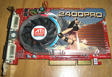 GeCube ATI Radeon HD 2400 PRO 512MB 2x DVI AGP TV-Out Video Card RX24PGA2-E3(R)