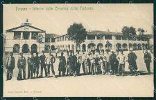 Firenze Città Caserma della Fortezza Militari Fanteria cartolina QT7557