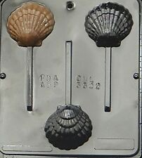 Sea Shell Lollipop Chocolate Candy Mold 3322 NEW