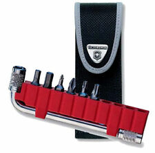 Swiss Army Tool Bit Kit With Wrench & Nylon Belt Pouch, Victorinox 33340, New