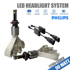 9006 Hb4 90W 11700LM PHILIPS LED Headlight Kit For Honda Civic/Accord/Odyssey