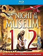 NIGHT AT THE MUSEUM 1 and 2 (Blu-Ray Disc, 2-Disc Set)  BRAND NEW!  (FREE SHIP!)