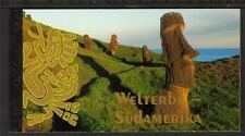 UNITED NATIONS POSTAGE VIENNA 2007 WORLD HERITAGE - STH AMERICA PRESTIGE BOOKLET