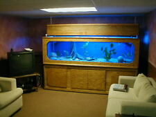 Build Your Very Own 300 Gallon Custom Plywood & Glass Aquarium (PDF Plans)
