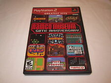 Namco Museum 50th Anniversary (Playstation PS2) GH Complete LN Perfect Mint!