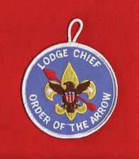 LODGE Chief OA Order Arrow Patch Boy Scout BSA