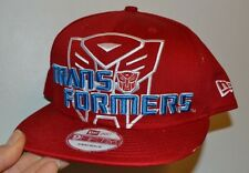 TRANSFORMERS NEW ERA AUTOBOT RED 9FIFTY SNAPBACK CAP Adjustable Adult Hat