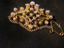 Beautiful Victorian Quality 15ct Gold & Seed Pearl Brooch/Pendant