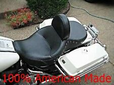 Harley Davidson Motorcycle Drivers Backrest kit for use with Low Profile Seat