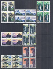 1981 PRC People's Republic of China 1696-1702 T67 Blocks Lushan Mountains - MNH*