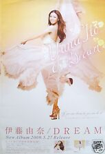 "YUNA ITO ""DREAM"" JAPANESE PROMO POSTER - Sexy American / Japan J-pop Superstar"