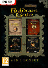 Baldurs Gate 4 in 1 Box Collection Compliation Brand New Sealed
